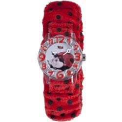 Trudi Kids' Red/ Black Fur Watch