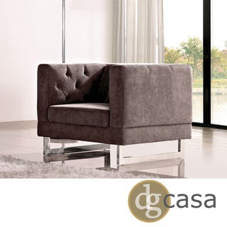 DG Casa Dark Raisin Grey Allegro Chair