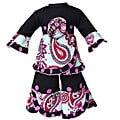 AnnLoren 2 piece Paisley and Polka Dot Outfit fits American Girl Doll