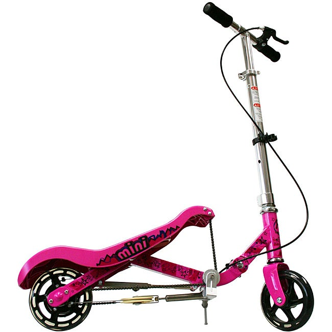 Rockboard Pink Mini Scooter
