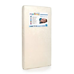 My First Memory Foam Crib Mattress with Soft Waterproof Cover