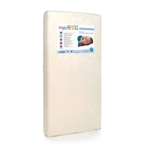 My First Memory Foam Crib Mattress with Soft Waterproof Cover 9262053