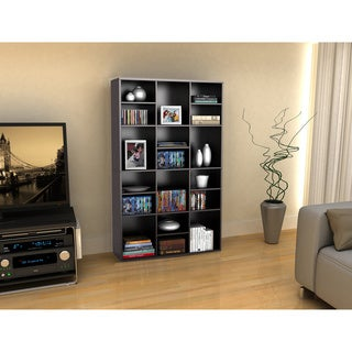 Versa Espresso 18-Shelf Wall Unit