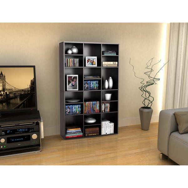 Versa Espresso 18-Shelf Wall Unit