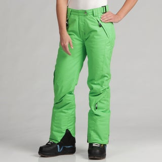 Marker Women's Grasshopper Green Ski Pants