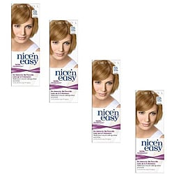 Clairol Nice 'n Easy #725 Medium Gold Blonde Hair Color (Pack of 4)