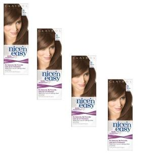 Clairol Nice 'n Easy #76 Light Golden Brown Hair Color (Pack of 4)