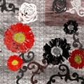 Ankan 'Red Touch' Gallery-wrapped Canvas Art