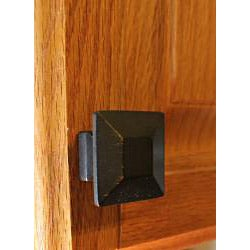 GlideRite Square Oil Rubbed Bronze Cabinet Knobs (Pack of 10)
