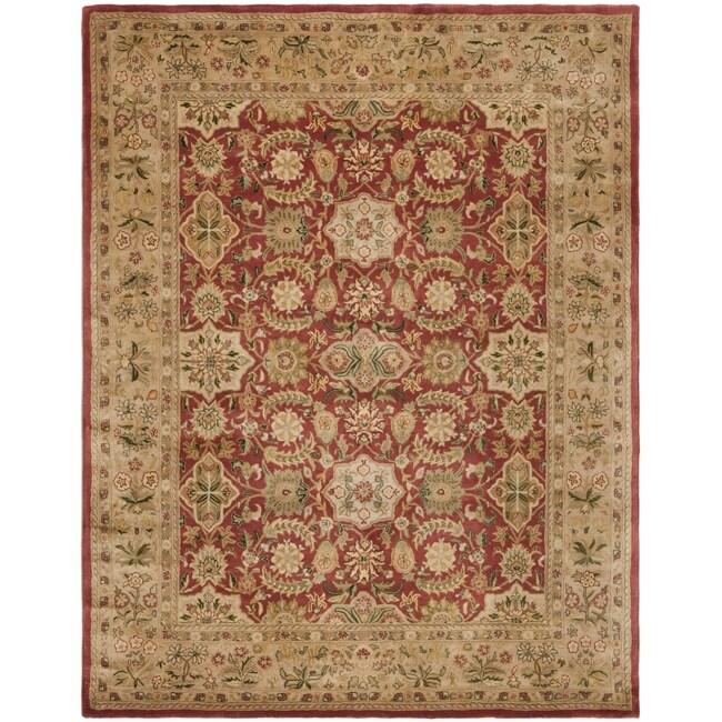 Safavieh Handmade Persian Legend Red/ Ivory Wool Rug (8'3 x 11')