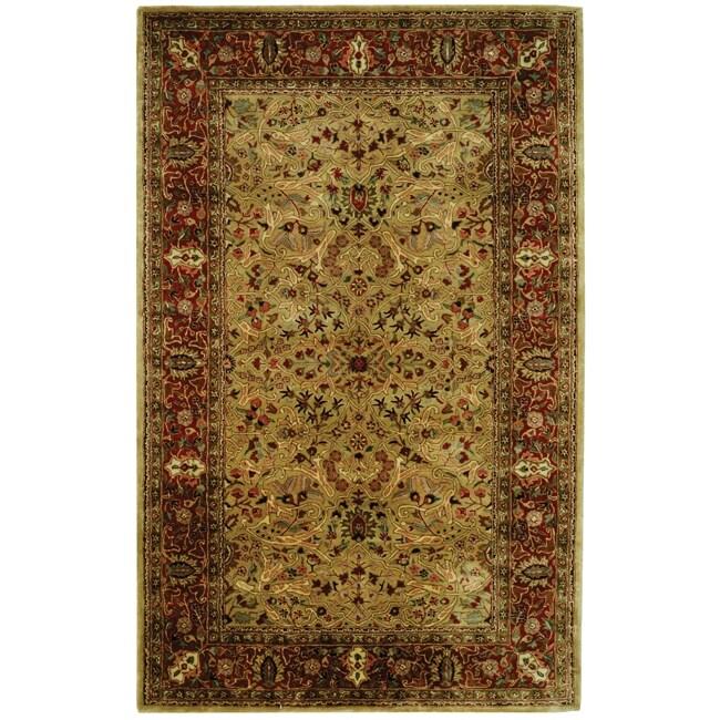 Safavieh Handmade Persian Legend Gold/ Rust Wool Rug (4' x 6') at Sears.com
