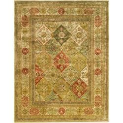 Handmade Persian Legend Multi/ Ivory Wool Rug (7'6 x 9'6)
