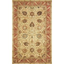 Safavieh Handmade Persian Legend Ivory/ Red Wool Rug (5' x 8')
