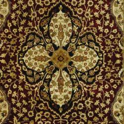 Safavieh Handmade Persian Legend Red/ Beige Wool Rug (6' x 9')