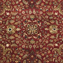 Safavieh Handmade Persian Legend Red/ Ivory Wool Rug (4' x 6')