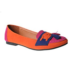 Refresh by Beston Women's BELIN-05 Round Toe Slip-ons