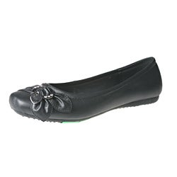 Refresh by Beston Women's GINA-72 Square Toe Flats