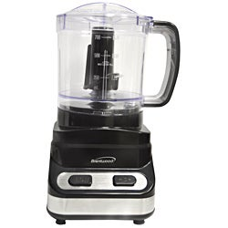 Brentwood Three Cup Black Food Processor