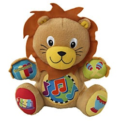 Baby Einstein Lion Press and Play Pal