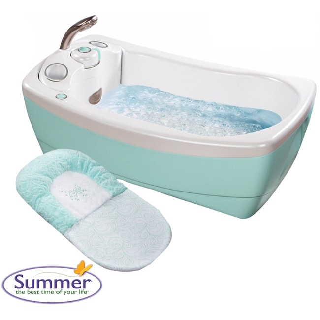 Summer Infant Lil' Luxuries Whirlpool Bubbling Spa and Shower