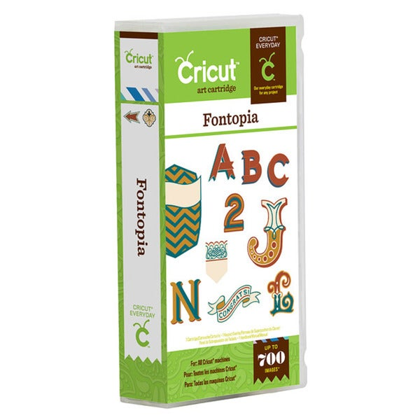 Cricut Fontopia Everyday Cartridge