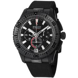 Zenith Men's 'El Primeo Stratos' Black Dial Chronograph Watch