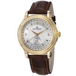 Revue Thommen Men's 14200.2512 'Classic' Brown Leather Strap Watch