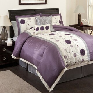 Lush Decor Purple/Gray Juliana 6-piece Comforter Set