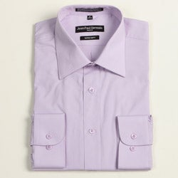 Jean Paul Germain Men's Lavender Convertible Cuff Dress Shirt