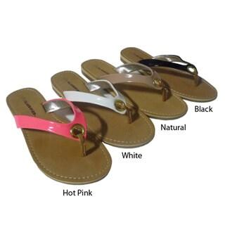 I-Comfort Women's Patent Sandal