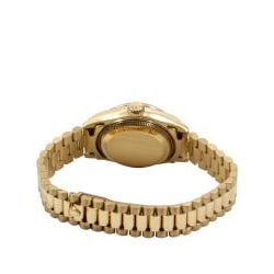 Pre-owned Rolex Women's 18k Gold President Watch