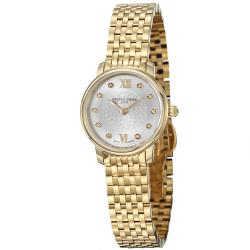 Frederique Constant Women's 'Slim Line' Yellow Goldtone Quartz Watch