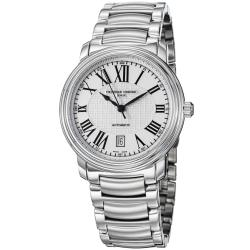 Frederique Constant Men's 'Classics' Silver Dial Stainless Steel Watch