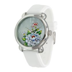 Ed Hardy Women's Fountain White Watch