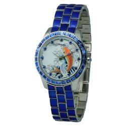 Ed Hardy Women's Bella Blue Watch