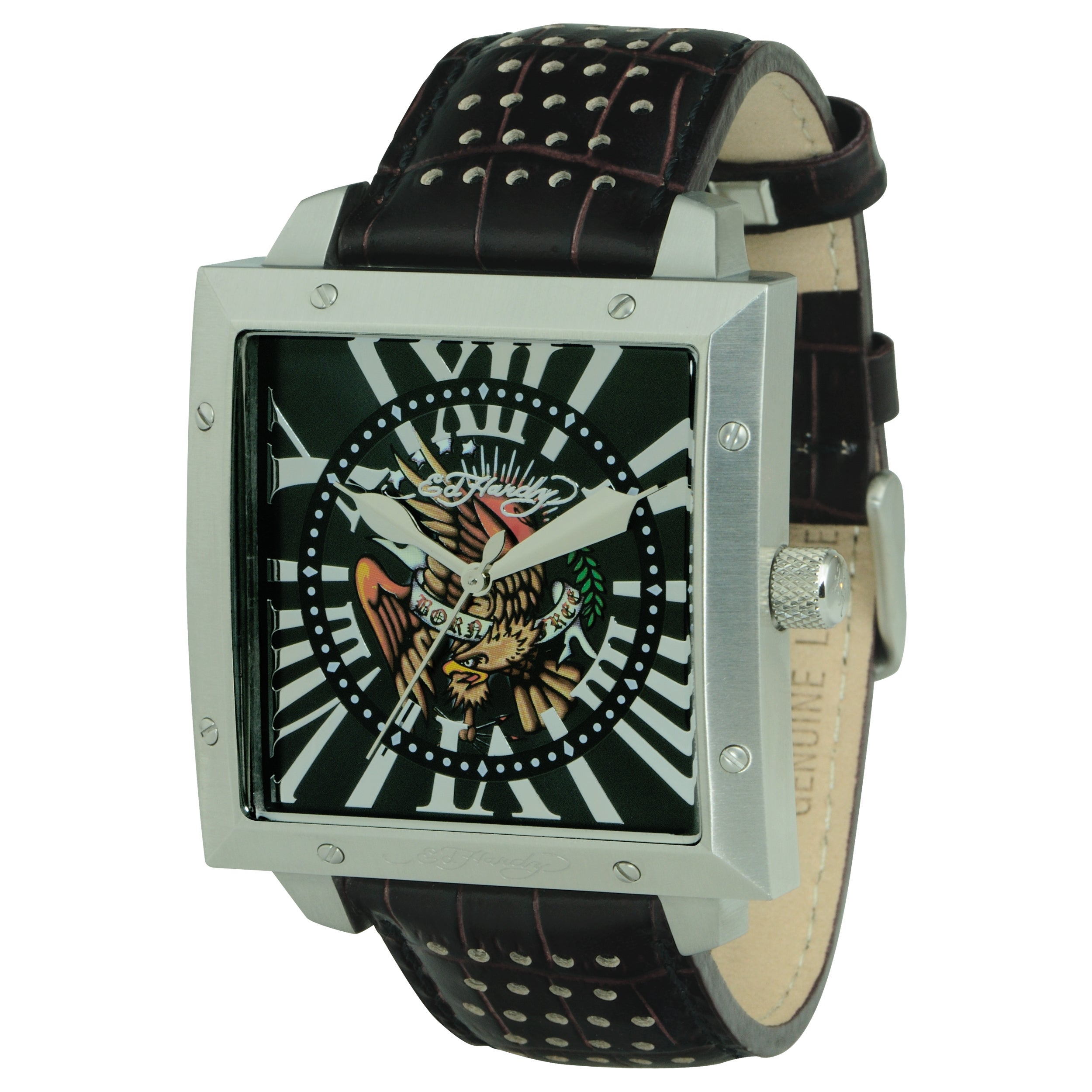 Ed Hardy Men's Defender Eagle Watch