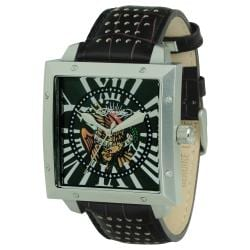 Ed Hardy Men's Defender Eagle Watch