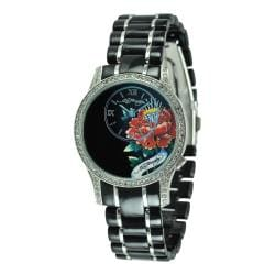 Ed Hardy Women's Jasmine Black Watch