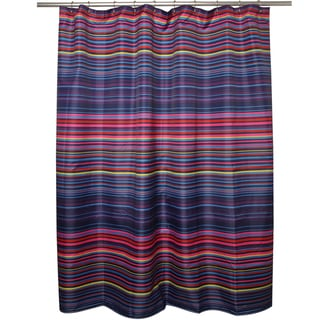 Eye Candy Multi-stripe Shower Curtain