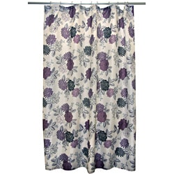 Waverly Cheri Purple Shower Curtain