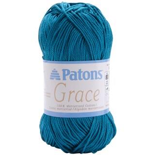 Grace Peacock Blue Crochet Yarn (136 yards)