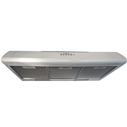 NT AIR White Under Cabinet Range Hood