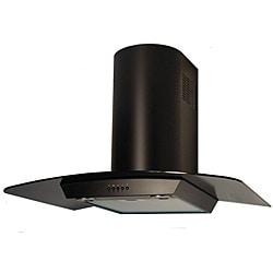 NT AIR Black Wall Mount Range Hood