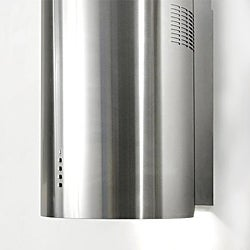 Stainless-Steel Three-Speed Illuminated Range Hood