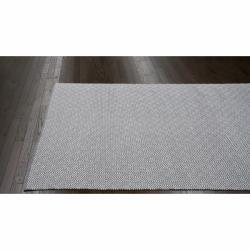 nuLOOM Handmade Flatweave Diamond Grey Cotton Rug (5' x 8')