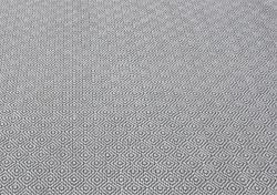 nuLOOM Handmade Flatweave Diamond Grey Cotton Rug (5' x 8')