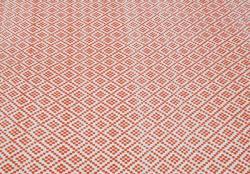 nuLOOM Handmade Flatweave Moroccan Trellis Orange Cotton Rug (8' x 10')