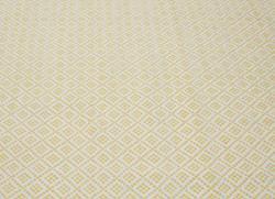 nuLOOM Handmade Flatweave Moroccan Trellis Yellow Cotton Rug (5' x 8')