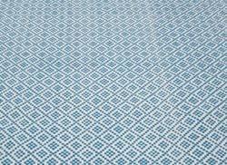 nuLOOM Handmade Flatweave Moroccan Trellis Blue Cotton Rug (5' x 8')