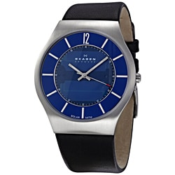 Skagen Men's Stainless-Steel Japanese Solar Quartz Movement Watch